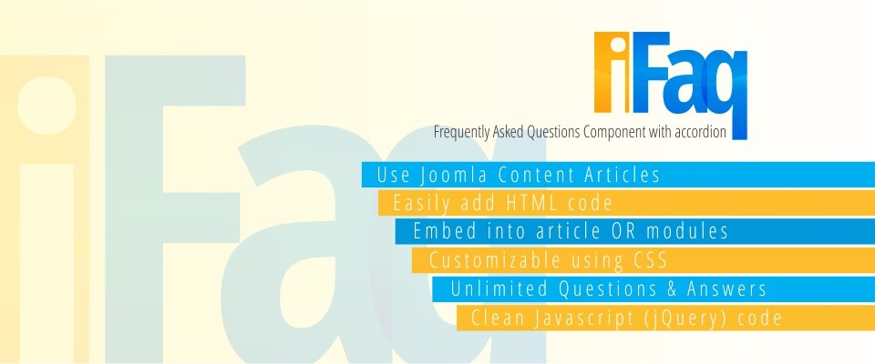 MooFAQMooFAQ is a FAQ (Frequently Asked Questions) Component for Joomla!™ which uses MooTools Accordion for the effects and the Joomla!™ content items for the FAQ content... It is very easy to set up and to use! Read more...