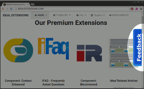 Extensions - Ideal Extensions for Joomla!